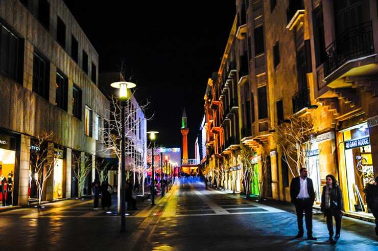 Downtown Beirut Street