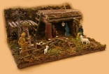 Hand Made Nativity Scene - Lebanese Artists
