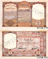 One Lebanese Pound 1935