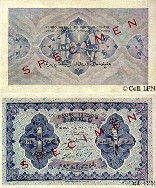 One Lebanese Pound 1942
