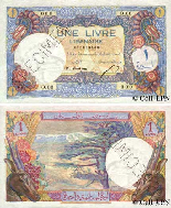 One Lebanese Pound 1950