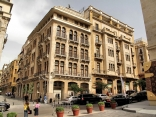 Restored buildings in downtown Beirut