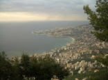 Jounieh View From Harissa