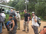 Hiking To Kilimanjaro, Tanzania Sept 2008- Getting Ready
